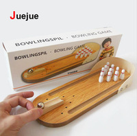 New Wooden Bowling Balls Fingerboards Toys Fidget Spinner Wooden Toys Gadget Montessori Educational Kids Adults Funny