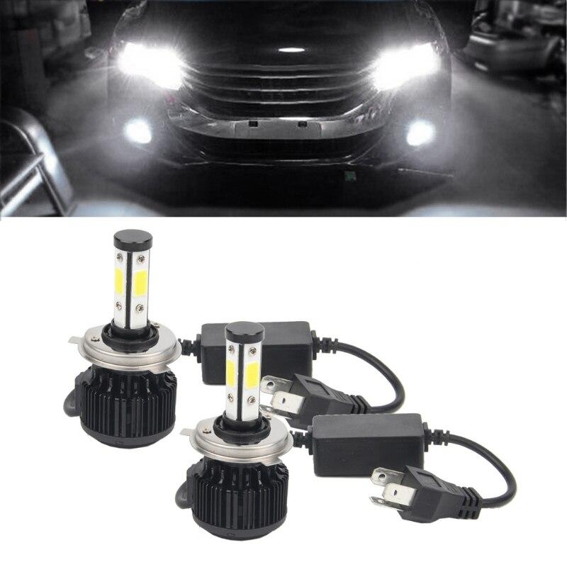 Hngchoige 2xnew высокая производительность H4 160 Вт 18000lm светодиодный головной свет комплект Hi/Lo луч лампы 6000 К ксеноновые