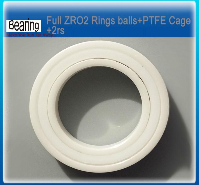 Double seals ZRO2 full Ceramic bearing 6003-2rs 17x35x10mm ceramic bike repair bearing 1 piece zro2 full ceramic bearing 6003 17x35x10mm ceramic bike repair bearing 1 piece