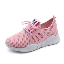2018 outdoor Running Walking Athletic shoes breathable brand comfortable Non-slip sneakers sport shoes lace-up Ladies Shoes