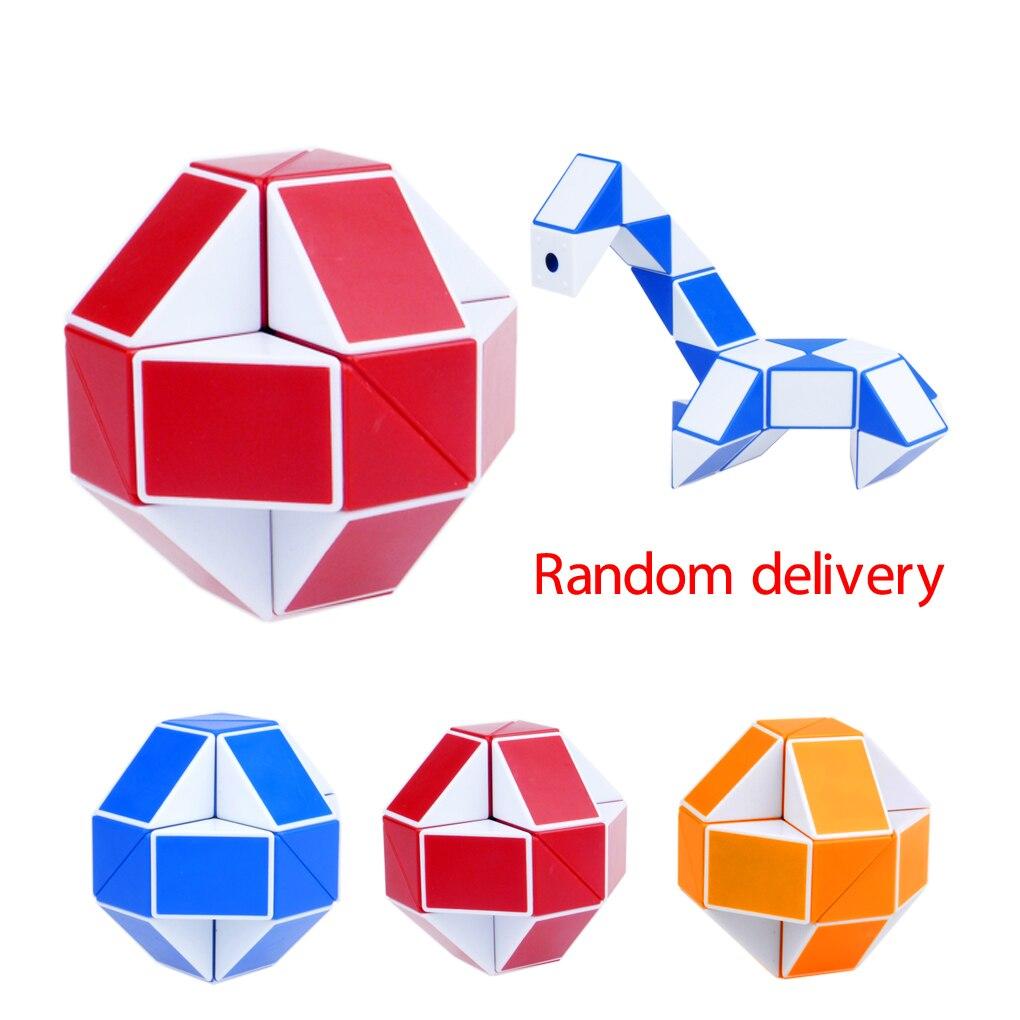 1/3pcs Magic Snake Shape Cube Puzzle Toy Christmas Gifts Cool Snake ...