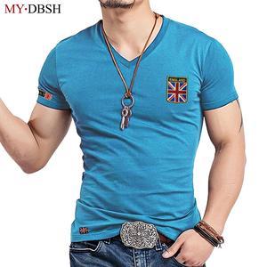 b321f27bec6 MYDBSH T Shirt Cotton Male Tshirt Man T-Shirts Clothing