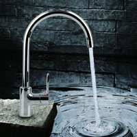 JOMOO Bathroom Kitchen Modern Lead free Taps Chrome Plated Single Handle Basin Rotate Cool Warm Water Mixer Faucet With Hoses