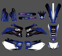 GRAPHICS & BACKGROUNDS DECALS STICKERS Kits For Yamaha WR250F WR450F 2007 2008 2009 2010 2011 WR 250F WR 250F 450F WR250 WR450 F