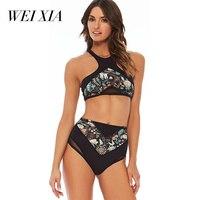WEIXIA 1808 Bikinis Set For Women Push Up Bathing Suit Swimwear Women Sexy Thong Brazilian Bikinis
