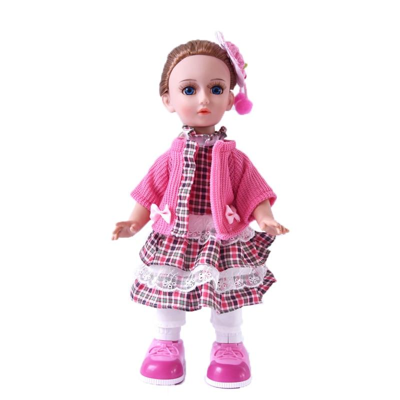 Princess Anna 16'' 42cm interactive doll talking dancing Russian speaking walking doll girl gift