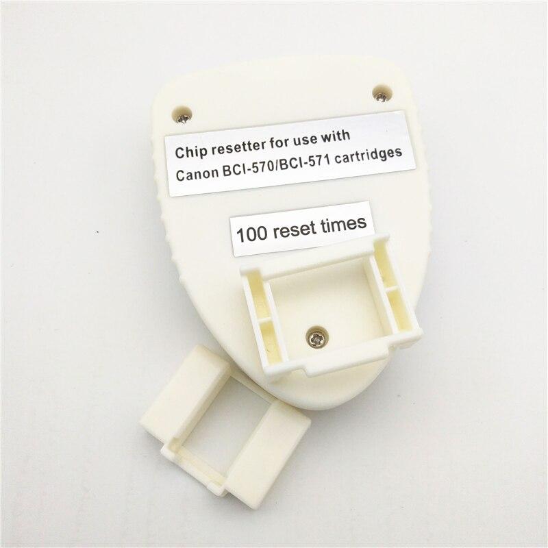 PGI-570 CLI-571 Chip Resetter para Canon PGI570 CLI571 PIXMA MG5750 - Electrónica de oficina