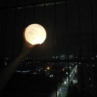 5 шт. 3D принт подруга подарок на день рождения ночник лунный свет Touch Управление светодиодный