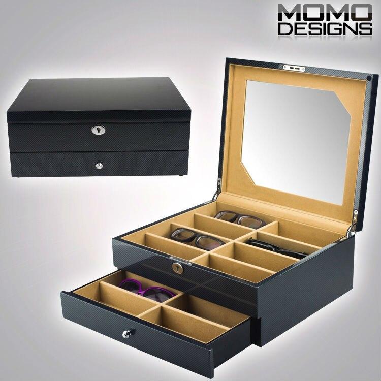 9ef1fd4a6d543 16 piece Luxury wooden sunglasses storage box display