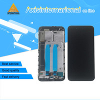 Original Axisinternational For Xiaomi Mi A1 MiA1 LCD Screen Display Touch Panel Digitizer With Frame White