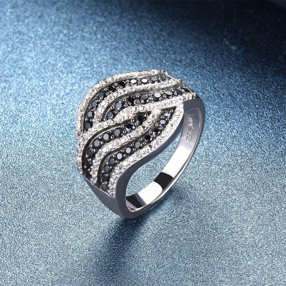 Hutang zaręczynowy pierścionek z kamieniem naturalny Spinel Topaz stałe 925 Sterling Silver Fine Fashion kamień biżuteria dla kobiet prezent nowy w Pierścionki od Biżuteria i akcesoria na  Grupa 3