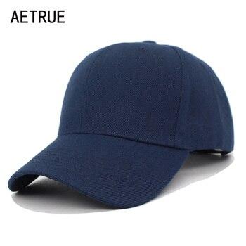 82a674b640371 AETRUE Snapback hombres gorra de béisbol de las mujeres sombreros para  hombres hueso blanco gorra Hip hop sólido Casual Gorras mujer sombrero de  papá hombre ...