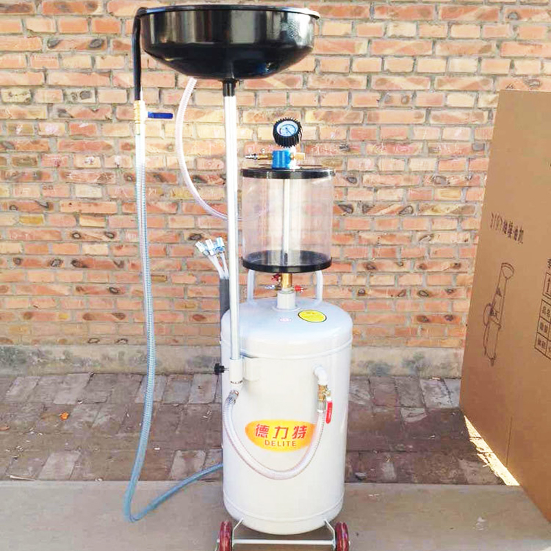 цена Pneumatic pumping machine waste oil recovery device with measuring cup pumping oil machine car maintenance equipment