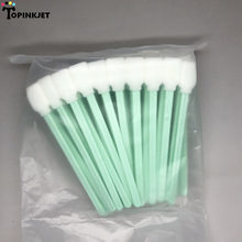 100 pcs Solvent Cleaning swabs Sticks DX2 DX4 DX5 DTG Print Head Cleaning ( Better than Printer Cotton Swabs )(China)