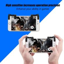 1 Pair Mobile Phone Controller Game for Trigger Fire Buttons Shortcut Keys Handle for PUBG