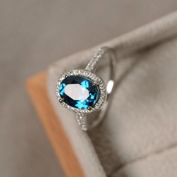 Роскошный инкрустированный Овальный циркон кольцо элегантный Шарм Красочные Кристалл фианит свадебное обручальное кольца для вечеринок ювелирные изделия Стильный