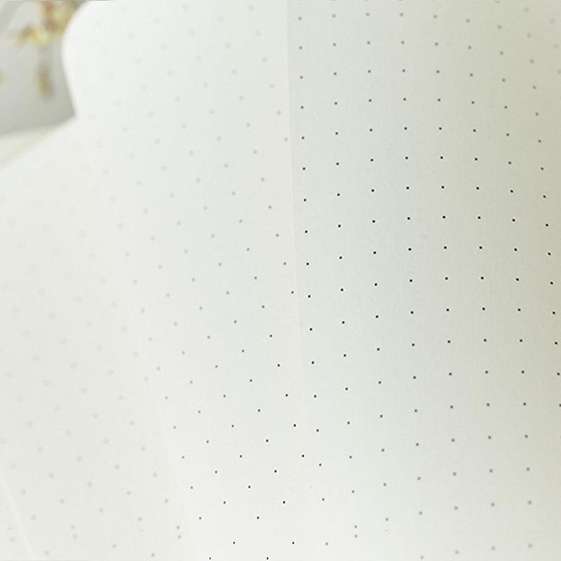 Gestippelde Hard Cover Creative Notebook Dagboek Business Cartoon - Notitieblokken en schrijfblokken bedrukken - Foto 6