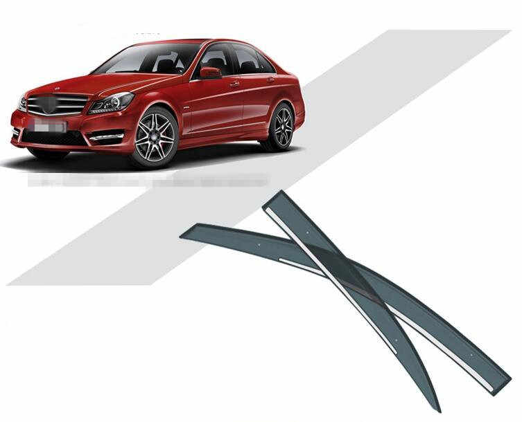 Detail Feedback Questions about 4Pcs Luxurious Car Sun Rain Visors