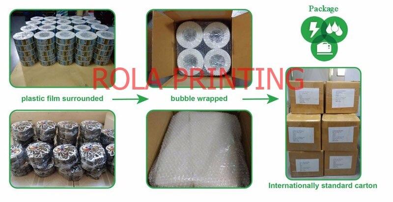 Design de produto adesivo personalizado impressão de