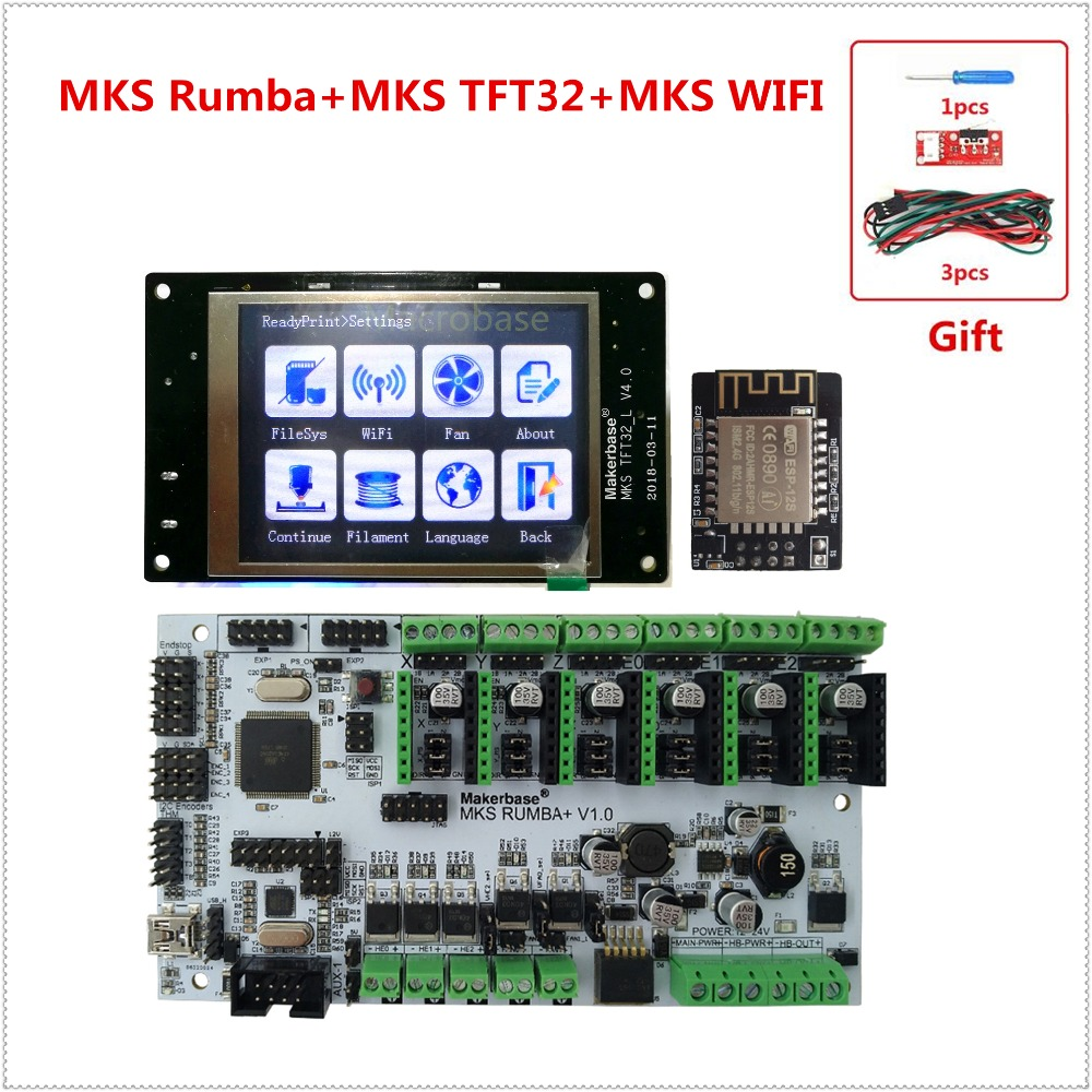 DIY parts for 3D printer MKS Rumba MKS TFT32 v4 0 display LCD all in one