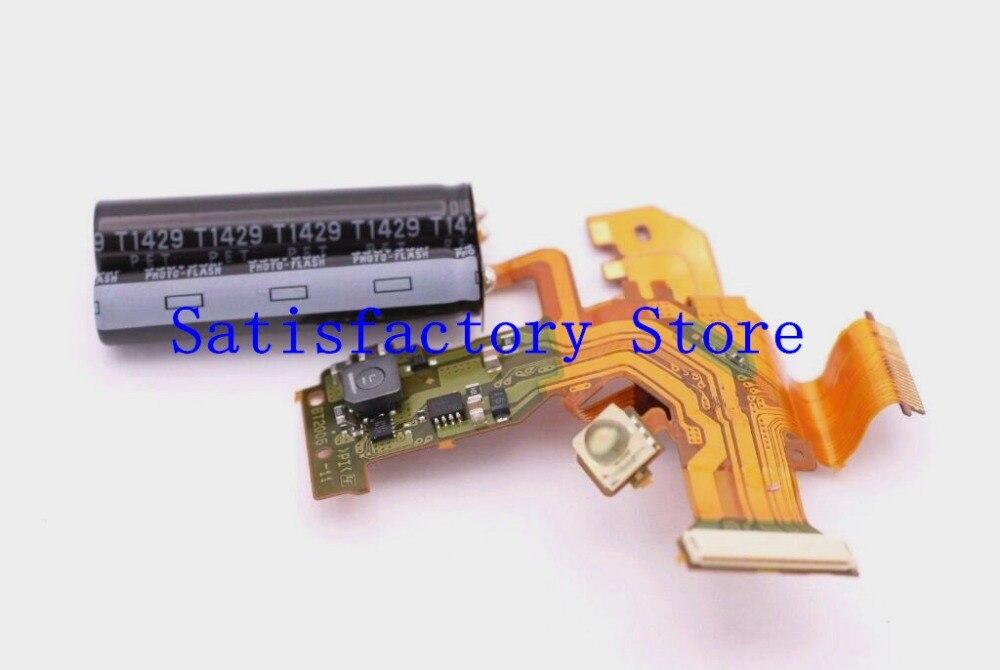 لسوني HX50 HX50V DSC-HX50V DSC-HX50 DSC-HX60V DSC-HX60 أعلى غطاء فلاش لوحة تحكم الكابلات المرنة إصلاح جزء