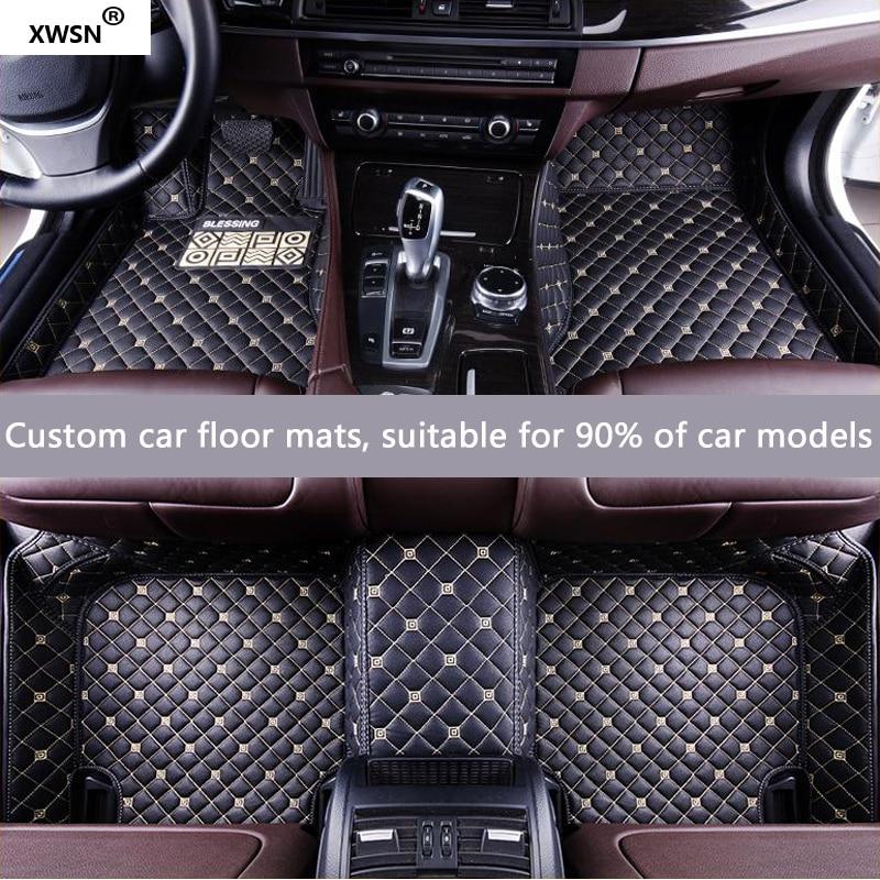 XWSN tapis de sol de voiture sur mesure pour Cadillac escalade SRX CTS Escalade ATS CT6 XT5 CT6 ATSL XTS SLS tapis de sol pour voitures
