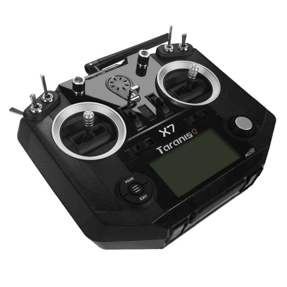 brand new Black white color FrSky ACCST Taranis Q X7 QX7 2.4GHz 16CH Transmitter frsky accst taranis q x7 qx7 2 4ghz 16ch transmitter without receiver for rc multicopter