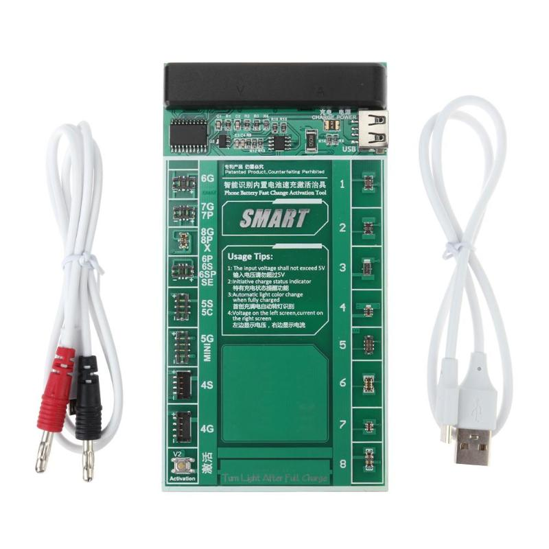 W209A+ Mobile Phone Battery Activation Fast Charge Board+Micro USB Cable for iPhone 4-8P X Samsung battery activation charge pcb board micro usb cable mobile phone repair tool for ipad ipad samsung xiaomi circuit test