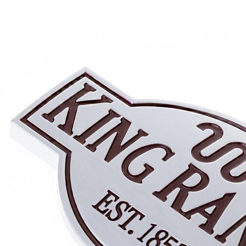 باب الباب الخلفي الملك مزرعة شعار لاصق الشعار ل 2011-2017 فورد إكسبيديشن F150 F250 F350 F450