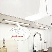 Tanbaby 5ワットタッチセンサーledキャビネット光で電源アダプタ調光可能チューブランプsmd 2835高輝度用キャビネット、キッチ