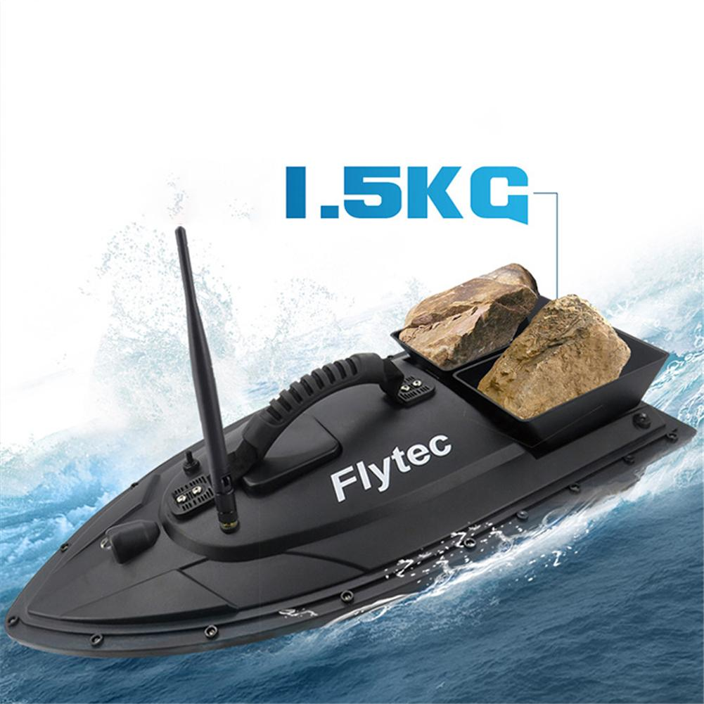 EU/US/UK Flytec 2011-5 Fishing Tool Smart RC Bait Boat Toys Dual Motor Fish Finder Ship Boat Remote Control 500m Fishing Boat