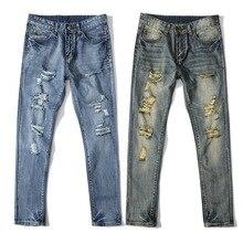 2017 лучшее качество итальянский бренд дизайн мужчины джинсы тонкий стрейч брюки промывают джинсовые брюки прямо fit джинсы робин джинсы dsq