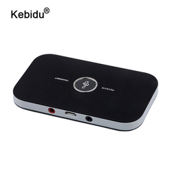 kebidu Aux 3.5mm Hifi 2in1 Bluetooth 5.0 Audio Transmitter Receiver Wireless A2DP Bluetooth Audio Adapter Portable Audio Player