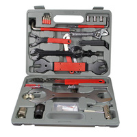 44Pcs Mountain Bicycle Repairing Tool Set Accessories Box Key Wrench Screwdriver Multi Tool For Bike Tire Maintain A Set of Keys