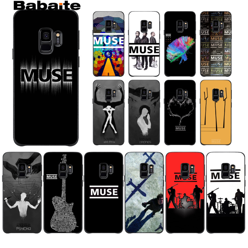 Babaite Muse Band Lyrics Music Songs DIY Printing Drawing Phone Case cover Shell For GALAXY s6 edge edge plus s7 edge s8 s9 plus image