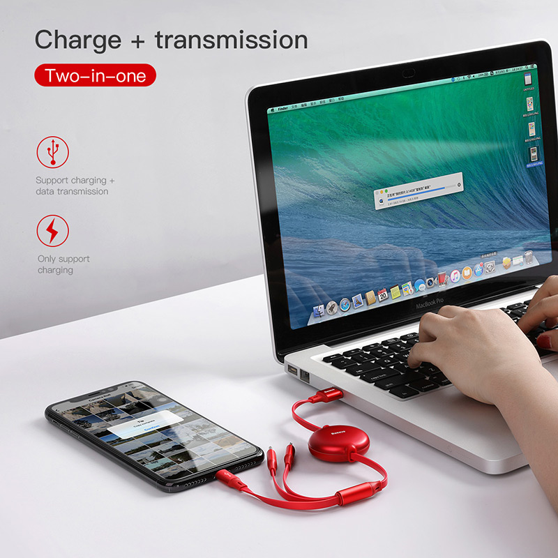 3 in 1 USB Charging Cable - Universal multifunctional USB charging Cable 2