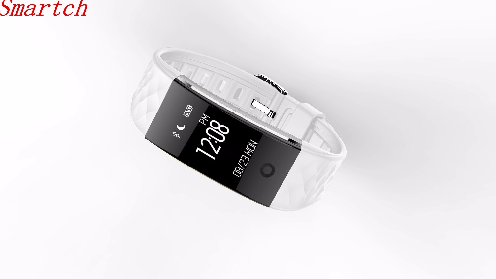 Smartch S2 Smart Band Bracelet Wristband With Heart Rate Bluetooth Smartband For iPhone Xiaomi Huawei PK
