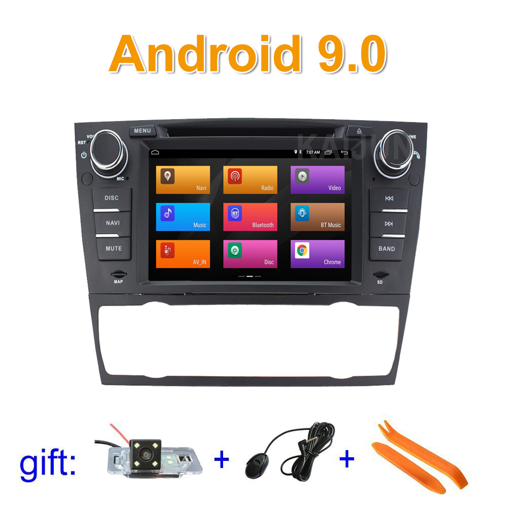 IPS screen Android 9 Car DVD Multimedia Radio Player for BMW E90 E91 E92 E93 with