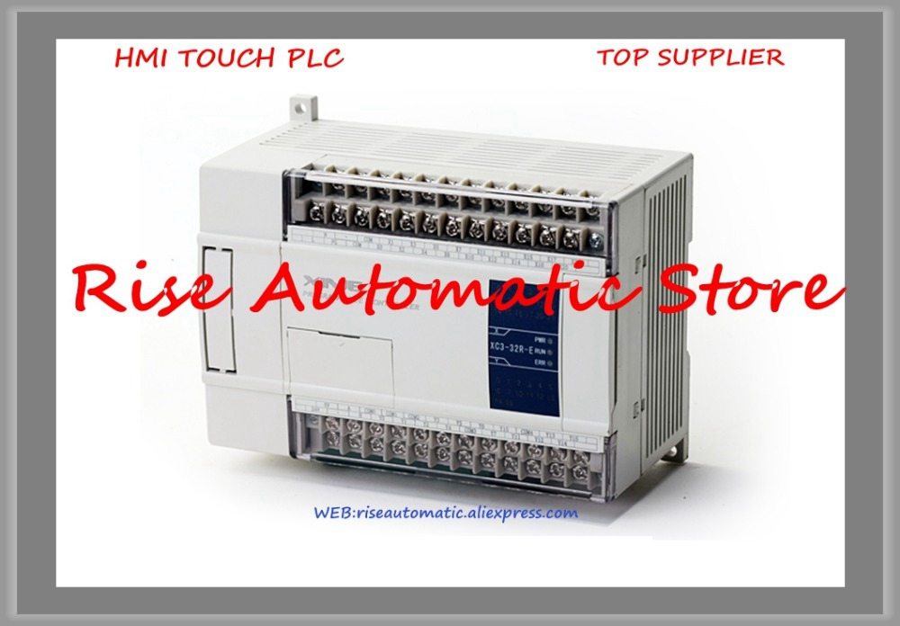New Original Programmable Controller Module XC1-24T-E PLC AC220V DI 12 DO 12 Transistor xc e8x8yt xinje xc series plc digital i o module di 8 do 8 transistor new in box