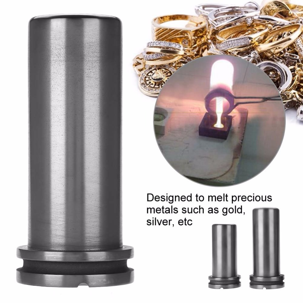 1kg/2kg/3kg High Pure Graphite Crucible Cup Metal Gold Silver Scrap Melting Furnace Casting Mould Jeweler Jewelry Melting Tool-in Jewelry Tools & Equipments from Jewelry & Accessories