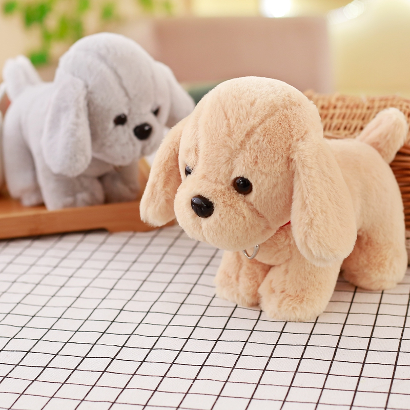 super cute plush toy dog doll as a Christmas gift for children's home decoration/20