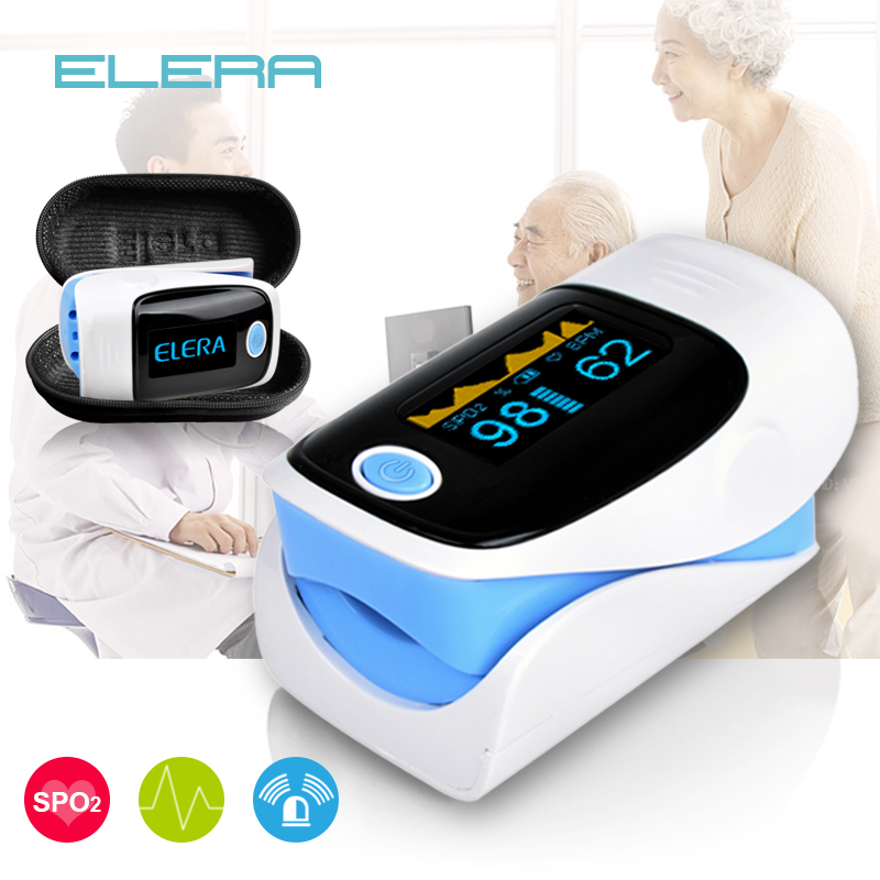 Digitale finger oximeter, OLED pulsoximeter display pulsioximetro SPO2 PR oximetro de dedo, oximeter ein finger mit tragetasche