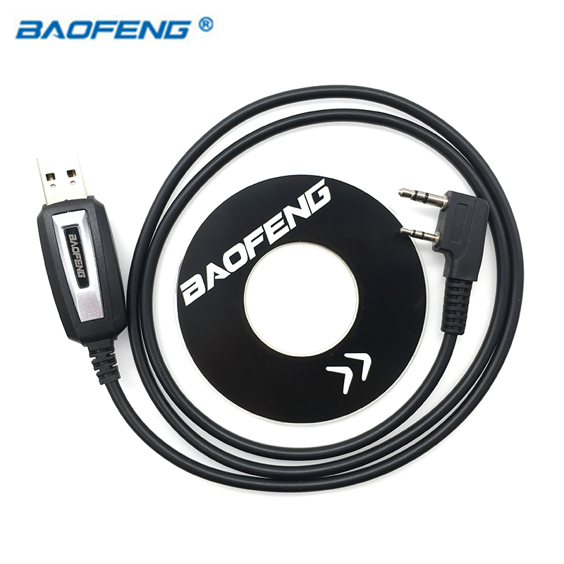 BAOFENG USB Programming Cable For UV 5R UV-82 BF-888S Parts Walkie Talkie Baofeng Uv-5r Accessories Radio VHF