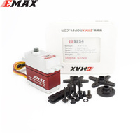 EMAX ES9255E ES9254E ES9054E Metal Case Brushless Digital Metal Gear Servo High Voltage Servo For RC Model