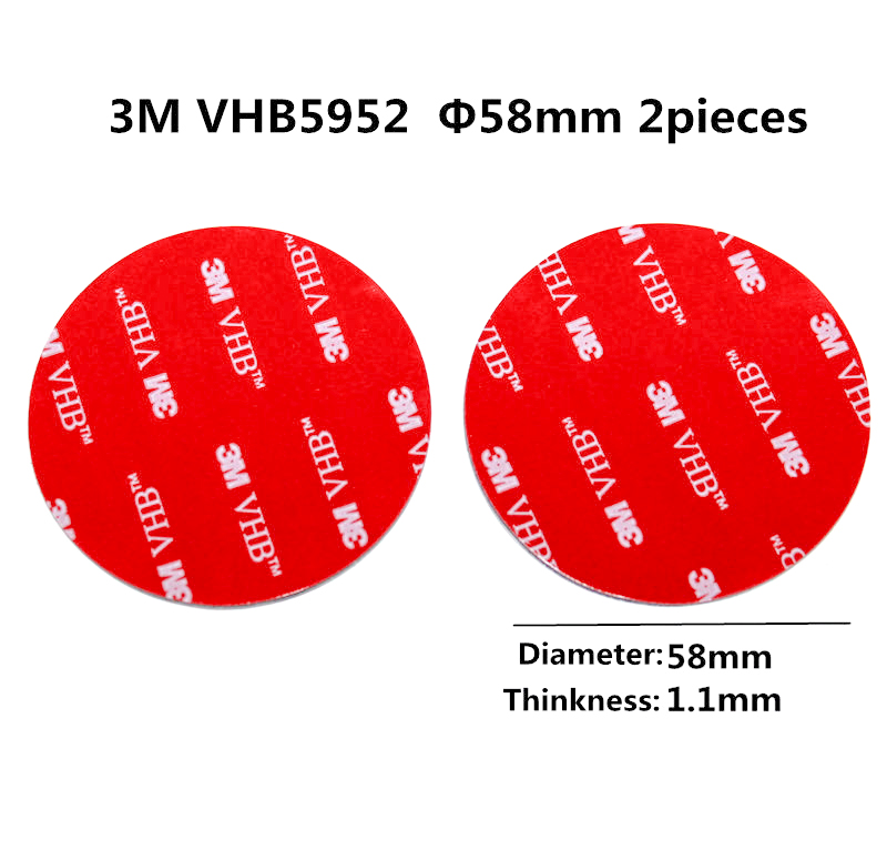17mm Wide 1mm Thick Pack Of 2 Heavy Duty Double Sided Mounting Tape 3m Long