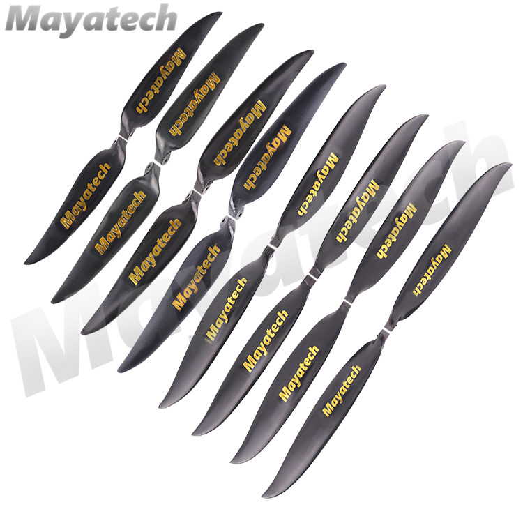 Mayatech Rc Airplane Plastic Folding Propeller 10'' to 16'' Prop Suitable for Plastic Spinner Or Aluminum Spinner RC Airplane image