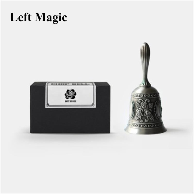 Rétro fantôme cloche par JN tour de magie hacher cloche gros plan rue tours de magie professionnel magicien scène Illusions mentalisme
