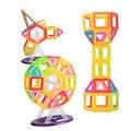 80 unids mini bloque magnético magnético 3d diseñador de los niños de juguetes educativos para niños de construcción de juguete diy niño