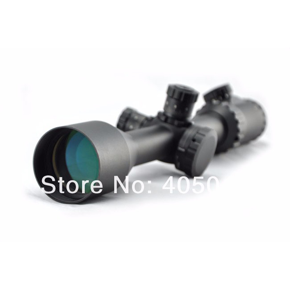 Visionking 4-16x50DL Hunting Rifle Scope Side Focus Riflescope Mil-Dot Riflescope Target Shooting Scopes Sight  W/21mm Mounts 4x magnifier scope fts flip to side for aimpoint or similar scopes sights for airsoft hunting