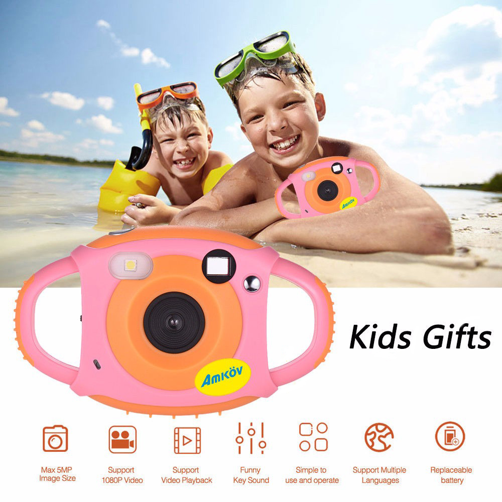 Toddler Toys Camera Educational Mini Digital Photo Camera Photography Birthday Gift Cool Kids Camera For Children